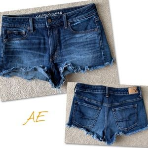 American Eagle Outfitters Shorts - American Eagle Vintage High Rise Festival Shorts
